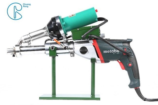 Plastic Extrusion Welding Gun Dual Heating CRT Series Double Independent Heating System
