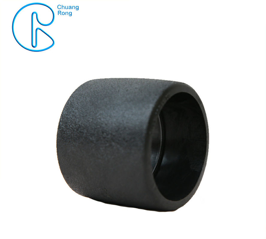 PE100 PN16 SDR11 HDPE Socket Fusion Fittings Equal Coupling for Water Supply