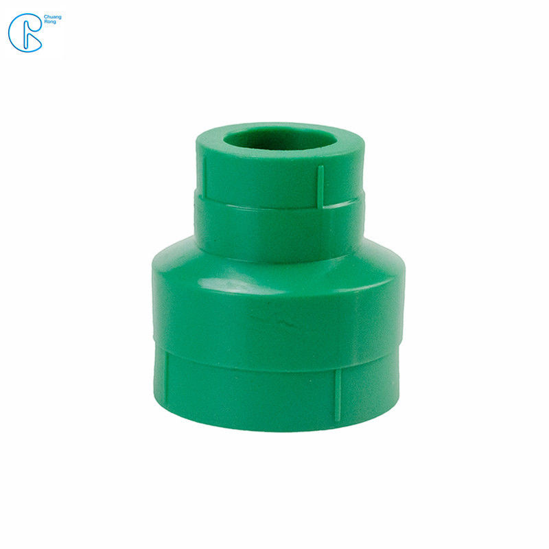 Green PPR Reducer In Pressure 25 For Heating / Air Conditioning System